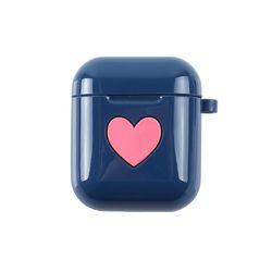 하트  실리콘 에어팟케이스 블루(AG5E8C01SALL)