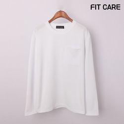 [핏케어] 리버플 포켓 긴팔 티셔츠 (CCTCSM001)