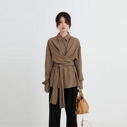 raina lap blouse (2colors)