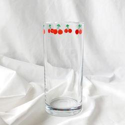 [하반기 달력 증정] 체리 유리컵