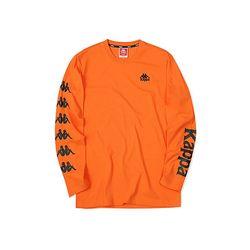 카파 222반다 사이드라인 긴팔 티셔츠 오렌지