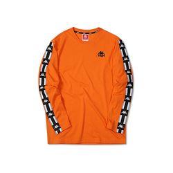 카파 222반다 사이드라인 긴팔 티셔츠 ORANGE