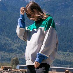18fw 플루크 어렌지 트라이앵글 후드티셔츠 FHT018N704  3color