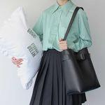 Sister Belted Shoulder Bag (black)