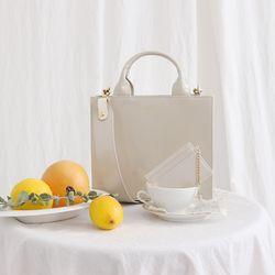 D.LAB Candy Bag - Ivory (카드지갑SET)