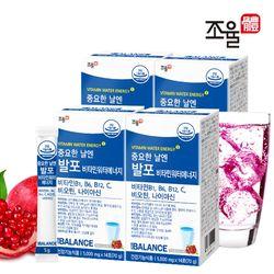 조율체 발포 비타민B 워터 에너지 4박스 (56포)
