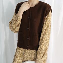 Lovely knit vest