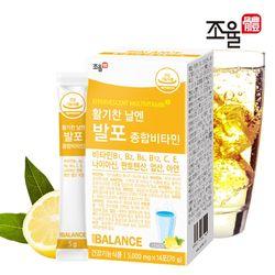 조율체 발포 멀티 종합비타민 1박스 (14포)