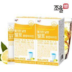 조율체 발포 멀티 종합비타민 2박스 (28포)