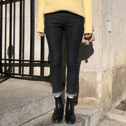 signature straight pants (s m)