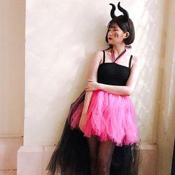 [성인의상] 할로윈 걸 크러쉬 핑크 원피스 XS (키155  165)