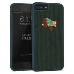 [무료배송] 아이폰6P7P8P 플러스 코듀로이 부클 바타입-그린나무늘보