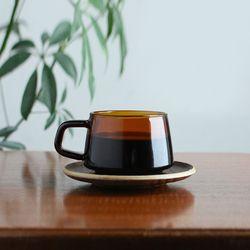 세피아 컵 소서 270ml (황색)
