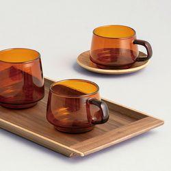 세피아 컵 270ml (황색)