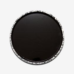 28cm 법랑플레이트 모노크롬