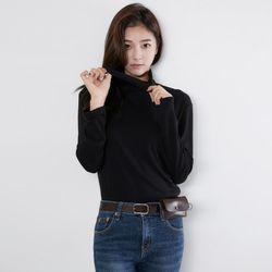 [로코식스] 칠리 하이넥 티셔츠