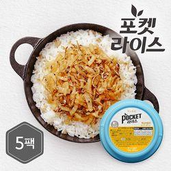 미니컵밥 백김치멸치 5팩
