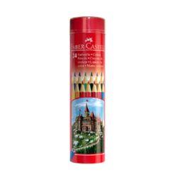 Faber-Castell 파버카스텔 일반색연필 라운드 틴 24색