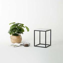 비앙카 01 천연 대리석 사이드 테이블