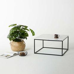 비앙카 02 천연 대리석 소파 테이블