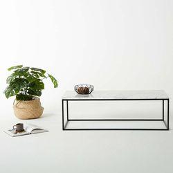 비앙카 03 천연 대리석 소파 테이블