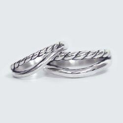 Twist 925 Silver Rings