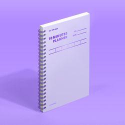 텐미닛 플래너 100DAYS 컬러칩 - 바이올렛