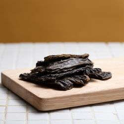 [동일용량 추가 증정!] 강아지수제간식 한우간 육포 멜리츄