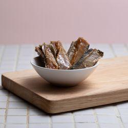 [동일용량 추가 증정!] 강아지수제간식 고양이간식 연어순살 멜리츄