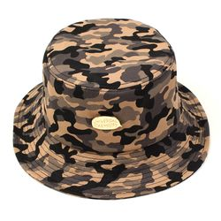 Gold Metal Camo Bucket Hat 버킷햇