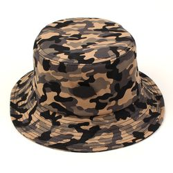 Black Metal Camo Bucket Hat 버킷햇