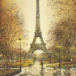 500조각 직소퍼즐 - 에펠탑 풍경 (CA5092A)