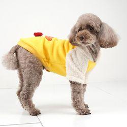 패리스독 강아지옷 스마일덕 후드티셔츠