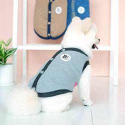 패리스독 강아지옷 에브리데이 퀼팅 베스트