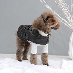 패리스독 강아지옷 극세사 트렌치코트
