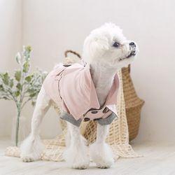 패리스독 강아지옷 케이프 트렌치코트
