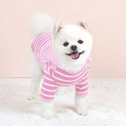 패리스독 강아지옷 포인트 프릴티
