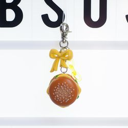 [하이데나이] 치즈버거 키링