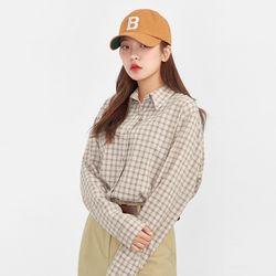 grid casual check shirts