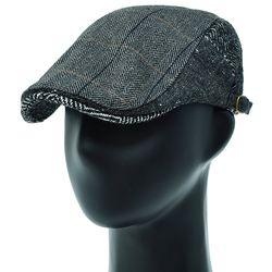 [더그레이]EMH35.헤링본 홈스펀 헌팅캡 남성 모자
