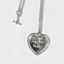 Heart pendant 925 Silver Necklace