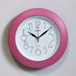 (ksam004)모던벽시계 119 (핑크)