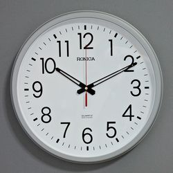 (ksam015)모던벽시계 908 (실버)