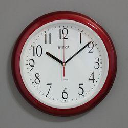 (ksam024)모던벽시계 7018 (자주)