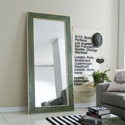라미스 원목 대형 거울