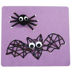 스트링아트 1개  세트 - 박쥐와 거미