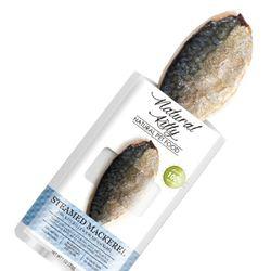 내츄럴 키티 리얼스낵 스팀 고등어 30g고양이간식