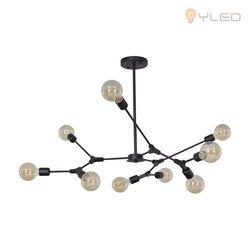 와이엘이디YLED LED인테리어조명 푸들9등 PD-블랙