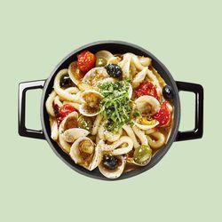 라비퀸 떡볶이 봉골레맛 세트 (치즈사리)