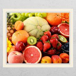 ck812-달콤한과일들창문그림액자